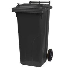 Popelnice plastová, 120L, černá