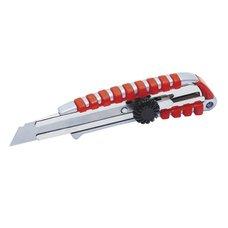 Nůž ulamovací, 18mm, hliník+guma, kovová výztuha, šroub, L 24, FESTA