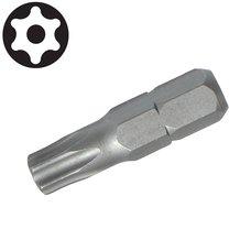 Bit šroubovací TORX s dírkou, TTa  6, 25mm, S2, STAHLBERG