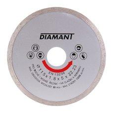 Diamantový kotouč plný 115mm, DIAMANT