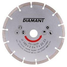 Diamantový kotouč, segmentový, 180mm, 22,2mm, DIAMANT