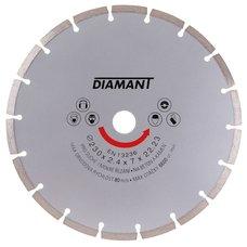 Diamantový kotouč, segmentový, 230mm, 22,2mm, DIAMANT