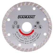 Diamantový kotouč, TURBO, 115mm, 22,2mm, DIAMANT