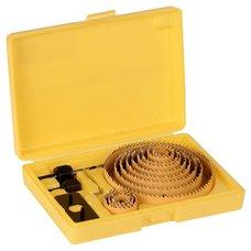 Vykružovací korunky, BI-METAL, sada 16ks, 19 - 127mm, CHS 6016, STREND PRO