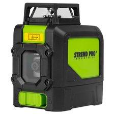 Laser liniový 360°, křížový samonivelační, zelený, 901CG, STREND PRO