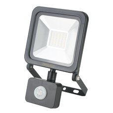 LED reflektor, SMD,  20W, 1600lm, 230V, černý, senzor, STREND PRO