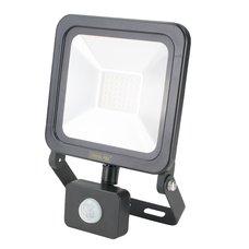 LED reflektor, SMD,  30W, 2400lm, 230V, černý, senzor, STREND PRO
