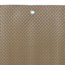 Zástěna Polyratanová, 90cm x 3m, 800g/m2, hnědá, STREND PRO