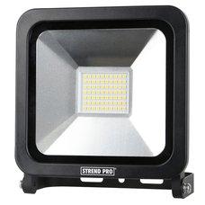 LED reflektor, SMD, 50W, 4000lm, 230V, černý, STREND PRO