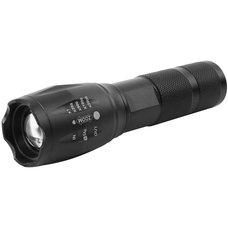 Svítilna LED,  5W T6, 150lm, fokus, nabíjecí, power banka, FL001, STREND PRO