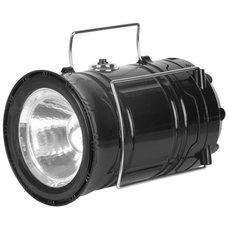 Svítilna LED - lucerna, 2v1, 80 lm, USB nabíjecí, efekt plamene, CL102, STREND PRO