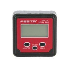 Sklonoměr digitální, 0-360°, magnet, FESTA