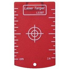 Cílová destička, 845, červená, magnet, KAPRO