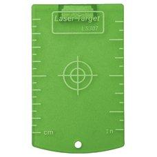 Cílová destička, 845G, zelená, magnet, KAPRO