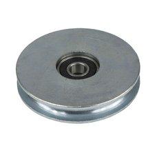 Kladka (rolna) s kuličkovým ložiskem, pr.  75mm, ZN, MTR