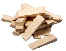 Klínky montážní dřevěné, rozměr 150 x 25mm, dilatace 1 - 25mm, balení 8ks