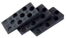 Klínky montážní plastové, rozměr 95 x 45mm, dilatace 0 - 15mm, balení 50ks