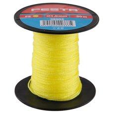 Zednický provázek polyetylenový - žlutý 1,0mm / 50m, FESTA