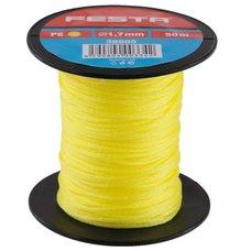 Zednický provázek polyetylenový - žlutý 1,7mm / 50m, FESTA