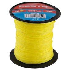 Zednický provázek polyetylenový - žlutý 2mm / 50m, FESTA