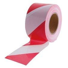 Varovací páska červenobílá 250m, bez potisku
