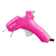 Tavná lepící pistole, pr.  7mm, 25W, růžová, EXTOL LADY