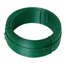 Drát ocelový, pr. 1,8mm, 50m, PZ + PVC zelené