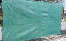 Stínící tkanina na plot HDPE, zastínění 90%, 150cm x 10m, 220g/m2
