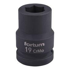 "Gola hlavice rázová 3/4"", 19mm, CrMoV, FORTUM"