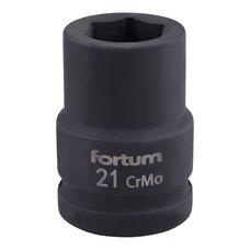 "Gola hlavice rázová 3/4"", 21mm, CrMoV, FORTUM"