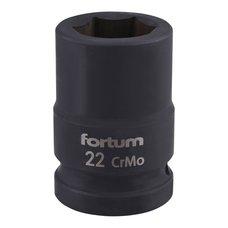 "Gola hlavice rázová 3/4"", 22mm, CrMoV, FORTUM"