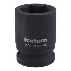 "Gola hlavice rázová 3/4"", 27mm, CrMoV, FORTUM"