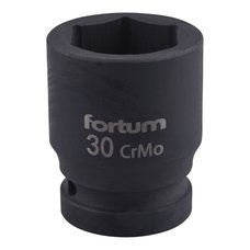 "Gola hlavice rázová 3/4"", 30mm, CrMoV, FORTUM"