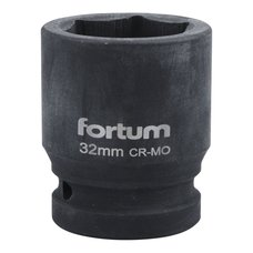 "Gola hlavice rázová 3/4"", 32mm, CrMoV, FORTUM"