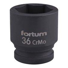 "Gola hlavice rázová 3/4"", 36mm, CrMoV, FORTUM"