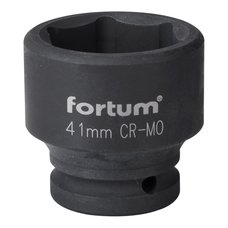 "Gola hlavice rázová 3/4"", 41mm, CrMoV, FORTUM"