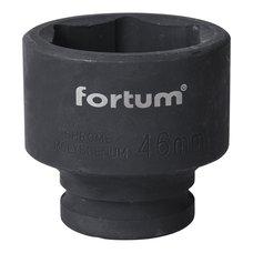 "Gola hlavice rázová 3/4"", 46mm, CrMoV, FORTUM"