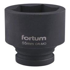"Gola hlavice rázová 3/4"", 55mm, CrMoV, FORTUM"