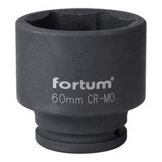 "Gola hlavice rázová 3/4"", 60mm, CrMoV, FORTUM"