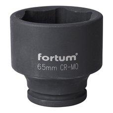 "Gola hlavice rázová 3/4"", 65mm, CrMoV, FORTUM"