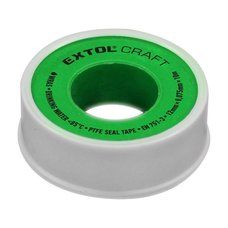 Páska těsnící teflonová, 12mm x 10m, 0,075mm, WRAS, sada 3ks, EXTOL CRAFT
