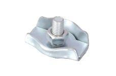 Lanová svorka, simplex,  8mm, DIN 5685 C