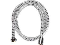 Sprchová hadice PVC, délka 150cm, stříbrný pruh, VIKING