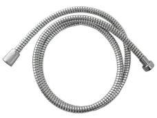 Sprchová hadice PVC, délka 150cm, černo/stříbrná, VIKING