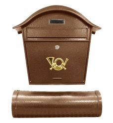 Poštovní schránka ST 103, 48 x 40cm, antická hnědá