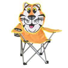 Stolička dětská skládací, 35x35x56cm, Tygr