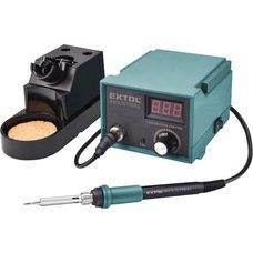 Pájecí stanice, 70W, regulace teploty, elektronika, EXTOL INDUSTRIAL