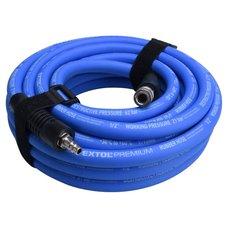 Vzduchová hadice, gumová, koncovky, pr.  9mm, délka 10m, EXTOL PREMIUM