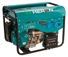 Elektrocentrála benzínová a plynová (LPG/NG), LPGG 50, 13HP / 5,0kW, elektrickýstart, HERON