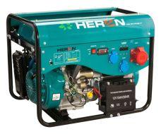 Elektrocentrála benzínová a plynová (LGP/NG), LPGG 43-3F, 13HP / 5,3kW, elektrický start, HERON